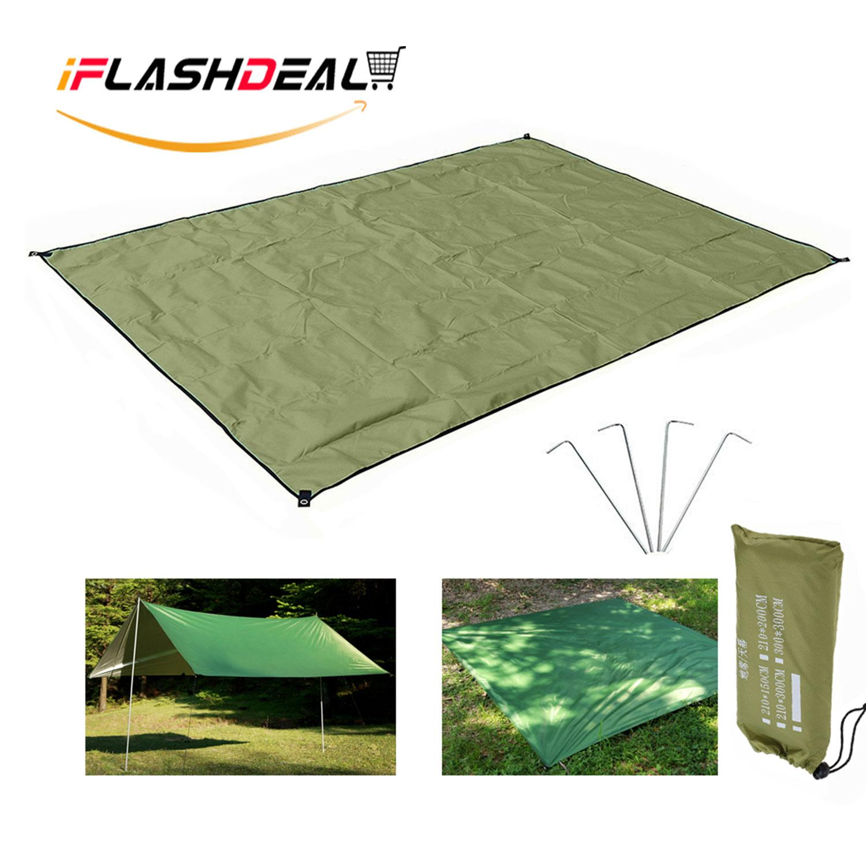 iFlashDeal Waterproof Camping TARP untuk Piknik, Tikar, Tenda Tenda, dan Kerai (Ukuran: 150x210cm )-Internasional