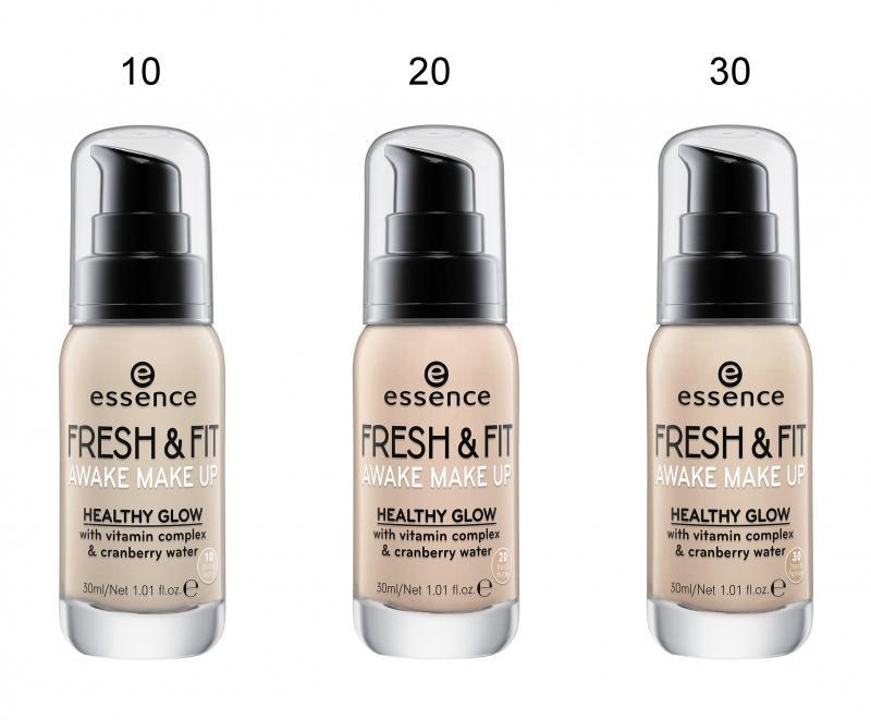 Essence foundation fresh&fit awake make-up Philippines