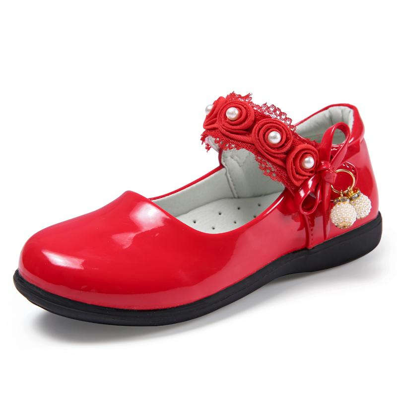 Sepatu Anak Anak Prempuan Sepatu Kulit Hitam Sepatu Putri Musim Gugur 2017 Model Baru Anak-Anak Putih Sepatu Lapisan Tunggal Siswa Sekolah Dasar Pertunjukan Musim Gugur Sepatu By Koleksi Taobao.