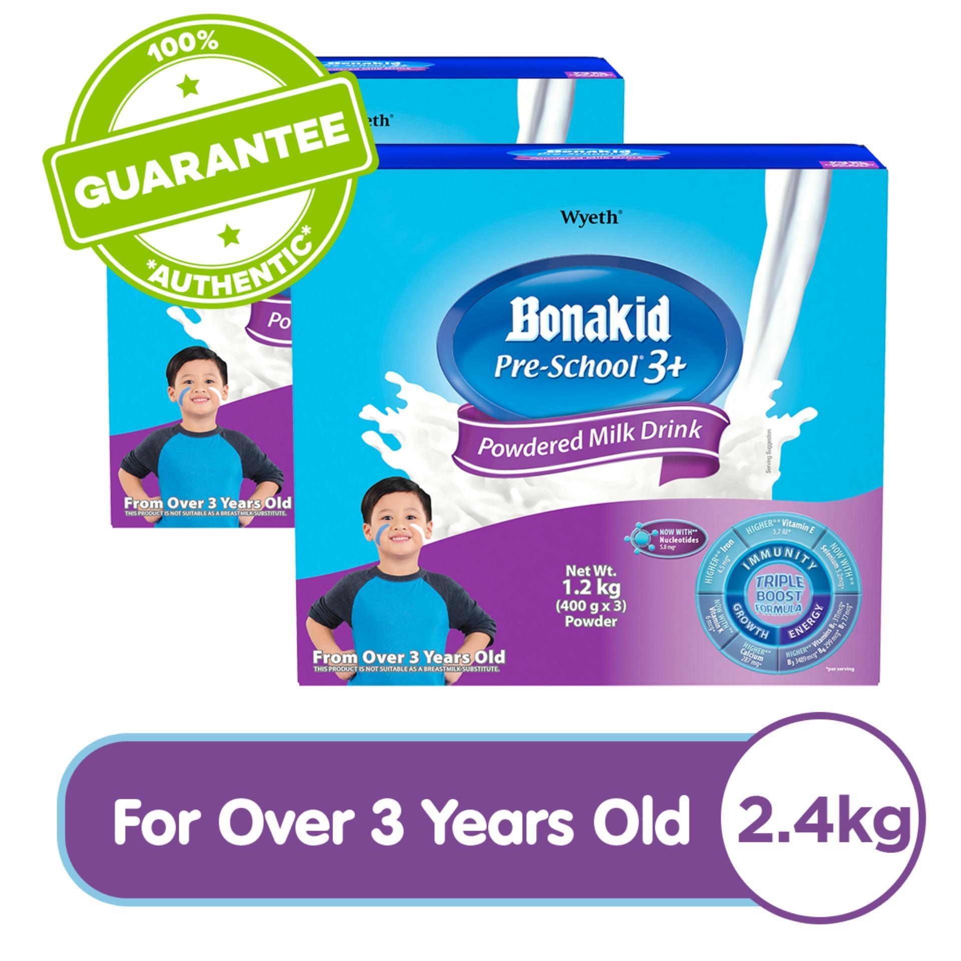 Wyeth® BONAKID PRE-SCHOOL® 3+ Powdered Milk Drink for Children Over 3