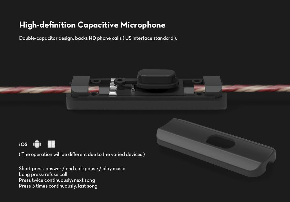 KZ ZSR Hybrid Earphones Balanced Armature with Dynamic In-ear Earbuds