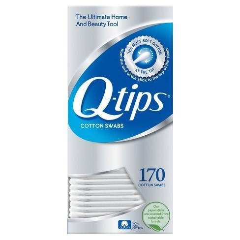 Q-tips Cotton Swabs 170 count Philippines