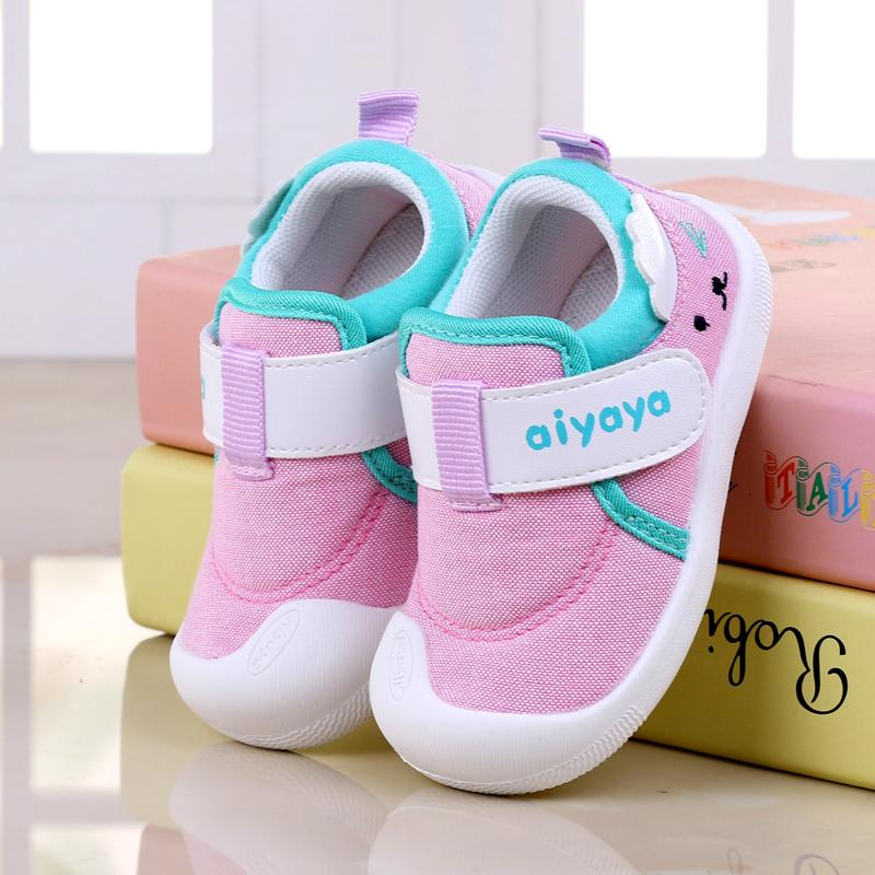 b587ee0ab Spring And Autumn Baby Shoe Men And Women Child Infant 1-2 One Or Two