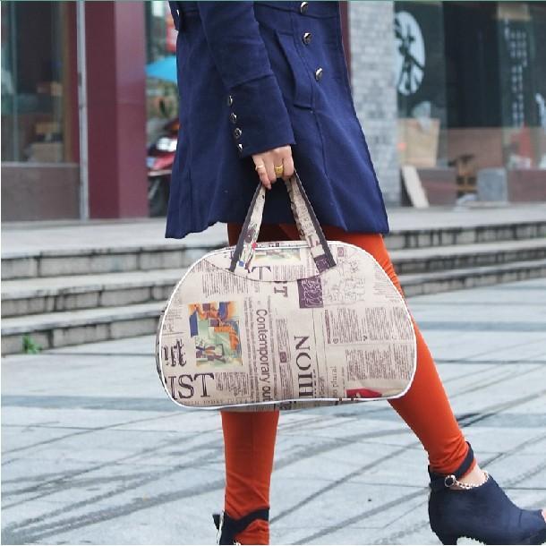 Tahan Air Tangan Mengangkat Han Melarang untuk Membungkus Mini Bagasi Perjalanan Tour Han Melarang Dai Kecil bungkus Besar Kapasitas untuk Melipat Wanita Tas Tas Bungkus 5 Dolar-Internasional