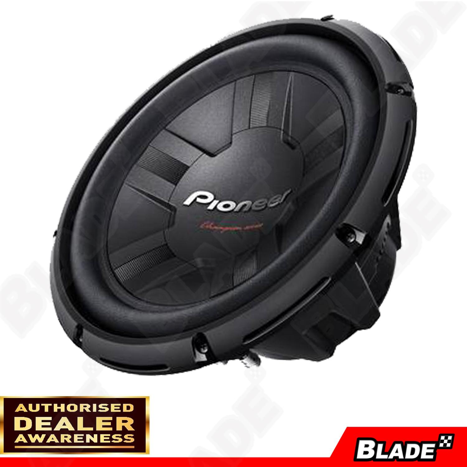 Pioneer Philippines Price List Cd Player Speaker Ts F1634r Coaxial 2way W311d4 Component Subwoofer 1400w Max