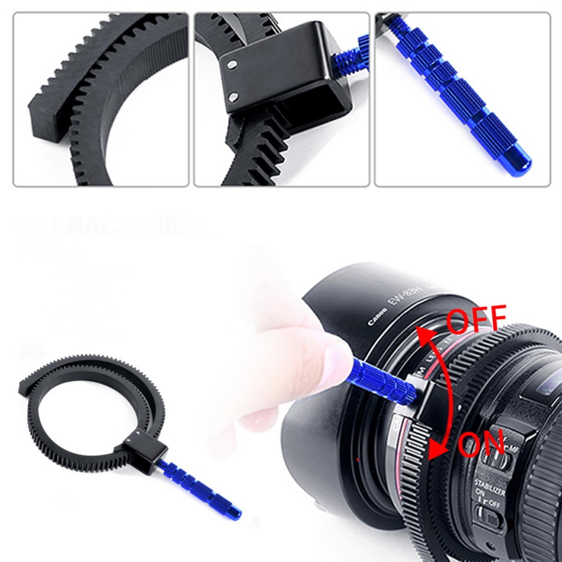 Meking Adjustable Flexible Lens Gear Ring Belt For Follow Focus Dslr Camcorder Canon By Mkstudio.
