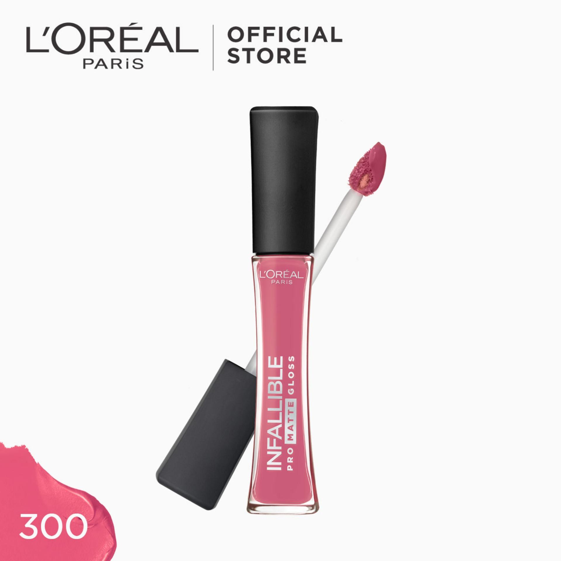 Infallible Pro-Matte Gloss Liquid Lipstick - Blushing Ambition 300 [#NeverFail] by LOréal Paris Philippines