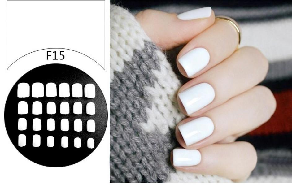 Plain White Fake Faux Nails (Artificial Nails) Philippines