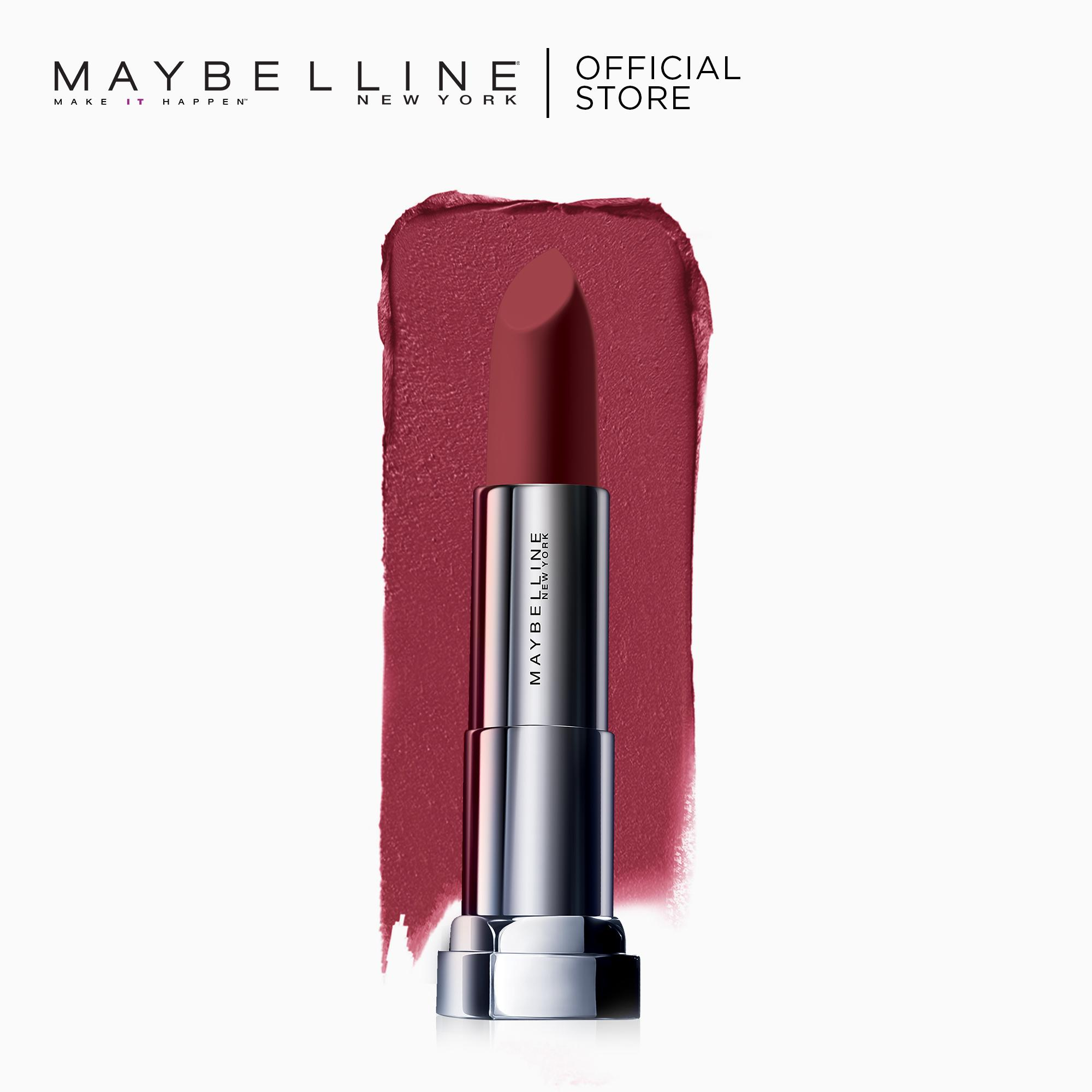 Maybelline Color Sensational Powder Matte Lipstick (Plum Perfection) Philippines