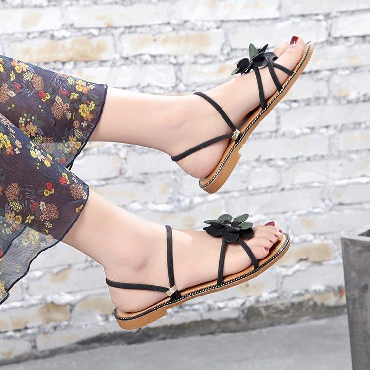 ... Sandal Korea Fashion Style Perempuan Baru Sepatu A - 3
