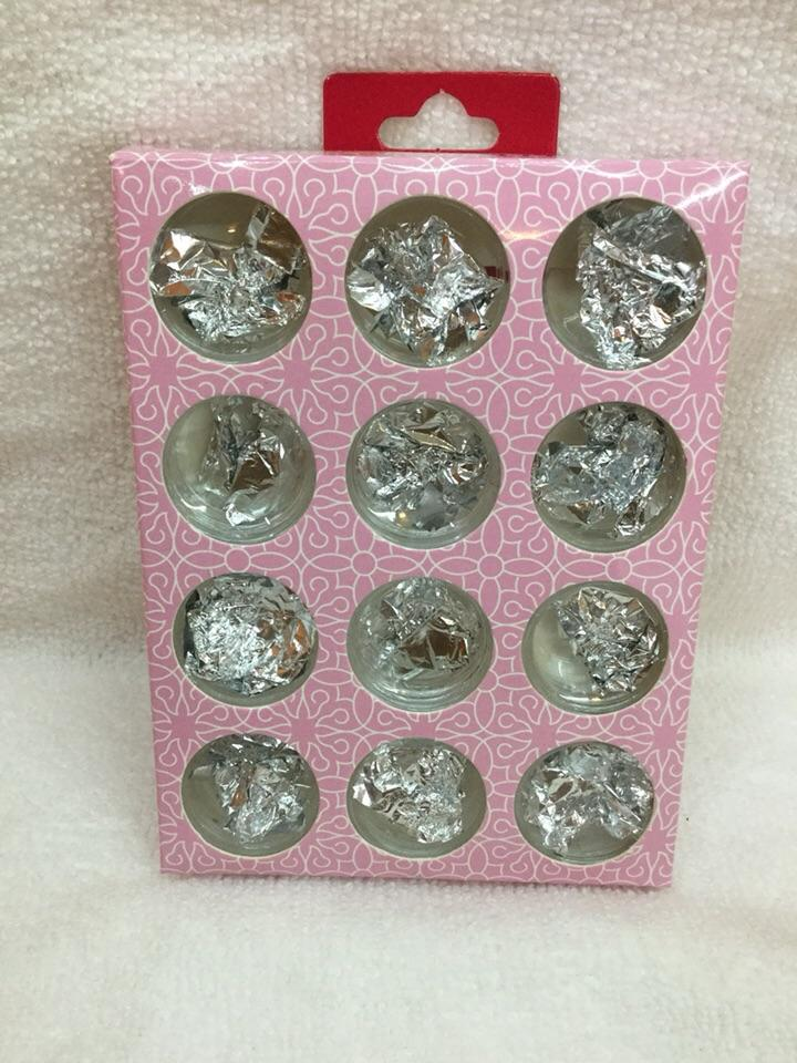 Glitter nail kit (12 pots nail art foil) Philippines