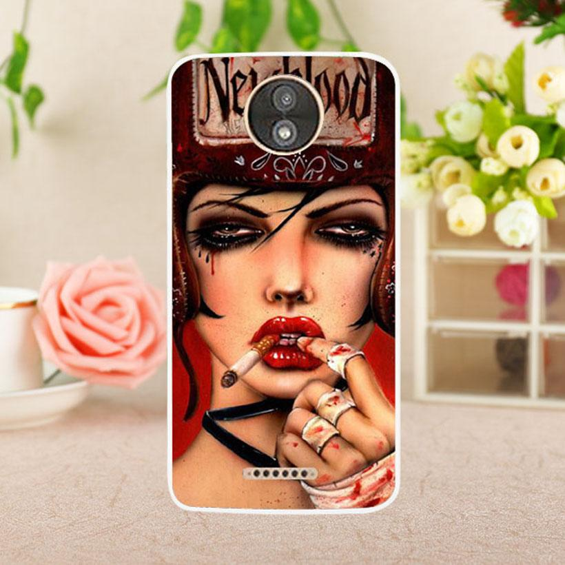 Phone Case for Motorola Moto C Plus XT1723 XT1724 5.0 inch Hot Images Cases Silicone Skin Protective Housing Covers DIY Paintd Shell Fexible Rubber Anti-knock Hood