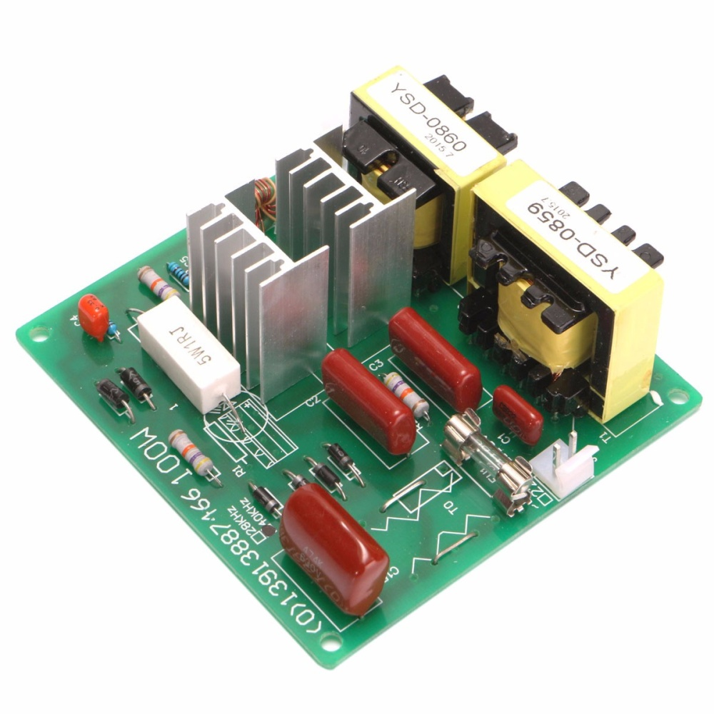 Ac110v 100w 40khz Ultrasonic Cleaner Power Driver Board W 60w 40k Converter Circuit Pcb Sensor Buy Image