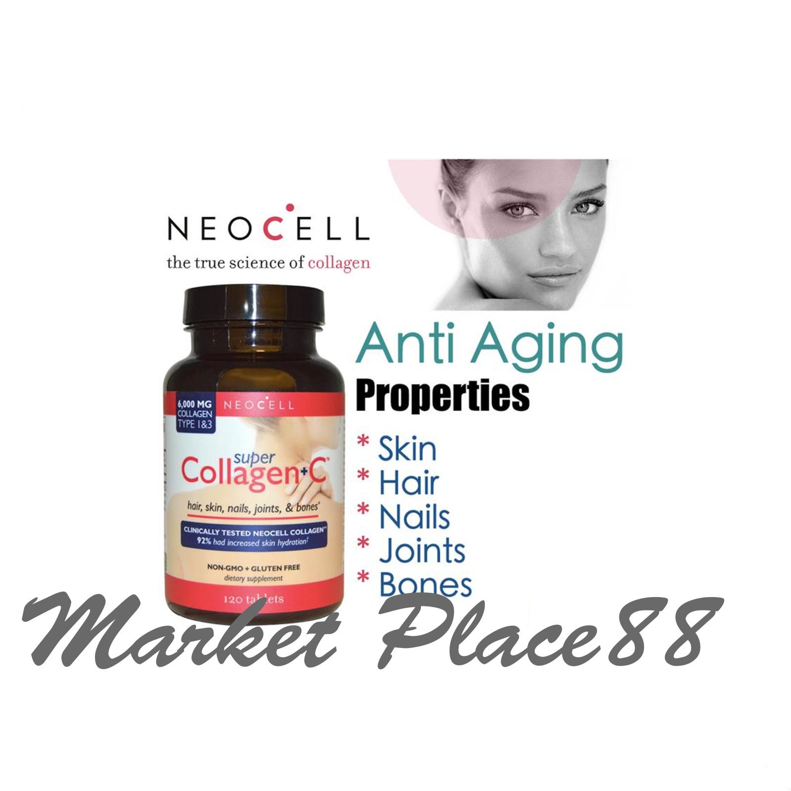 Neocell Food Supplement Philippines Weight Management For Super Collagen C Type Iiii 120 Tablets Bottle Of