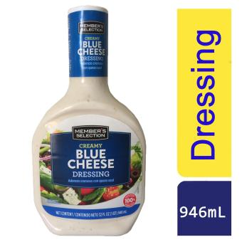 Member's Selection Creamy Blue Cheese Dressing 946mL (1035g)
