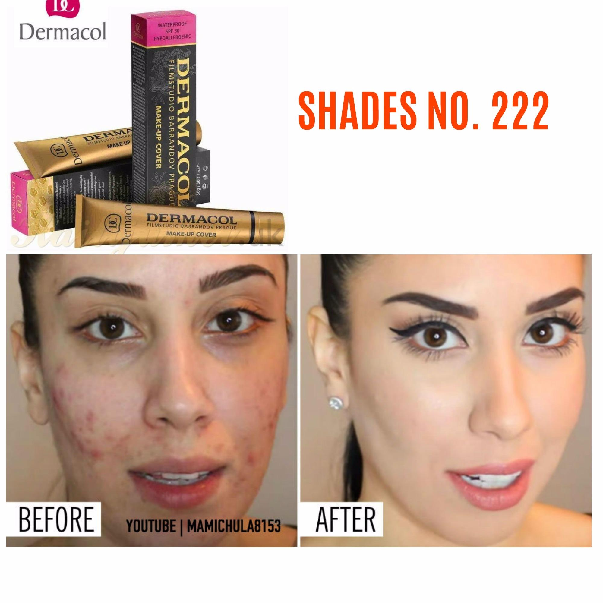 Waterproof Dermacol Make Up Cover Shades 222 Philippines