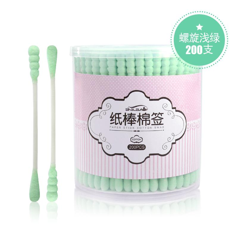 New Double headed cotton swab boxed facial wipe Philippines