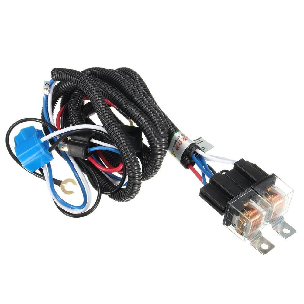 Gx H4 Headlight 2 Headlamp Relay Wiring Harness Car Light Bulb Easy For Cars To Protect The Original Line Installation Neednt Change Circuit Can Be Applied Directly Practicability And Wide Generality