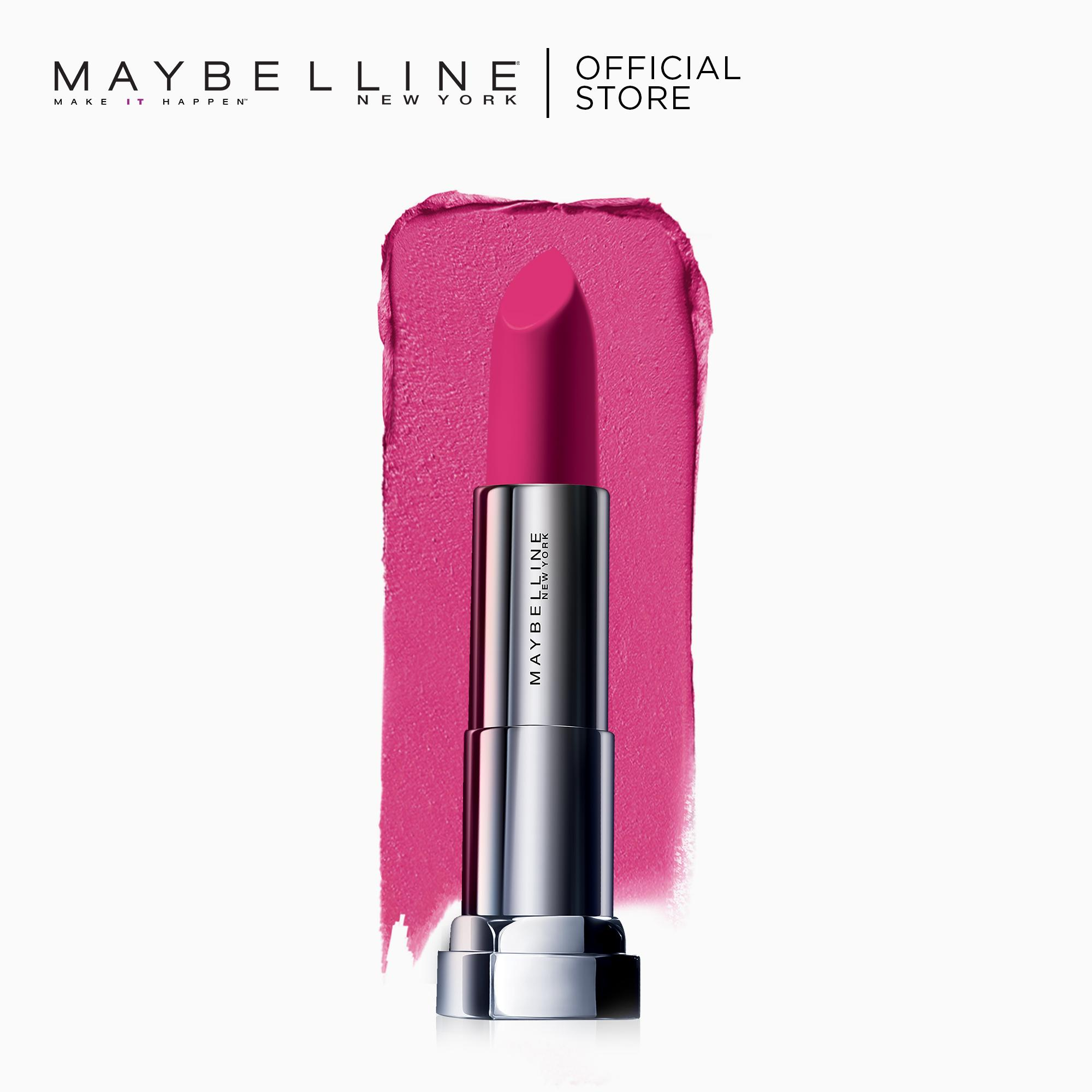 Maybelline Color Sensational Powder Matte Lipstick (Up To Date) Philippines