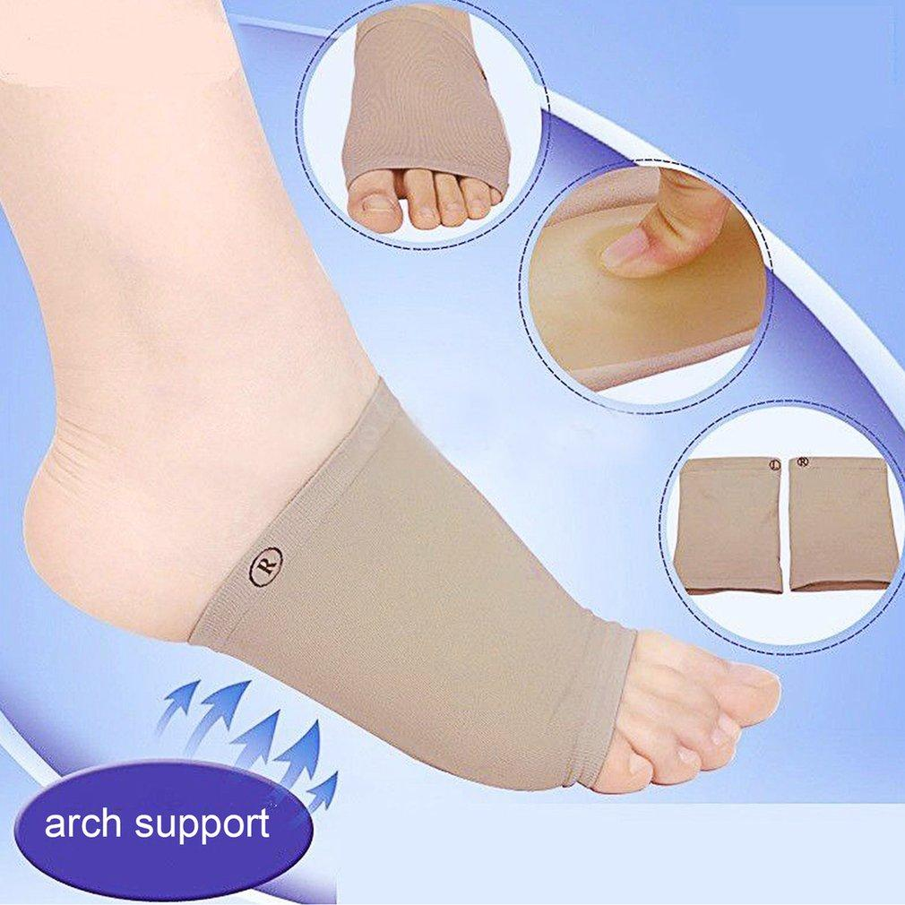 1 Pair Feet Care Pads Patch Socks Gel Plantar Fasciitis Arch Support Socks Philippines