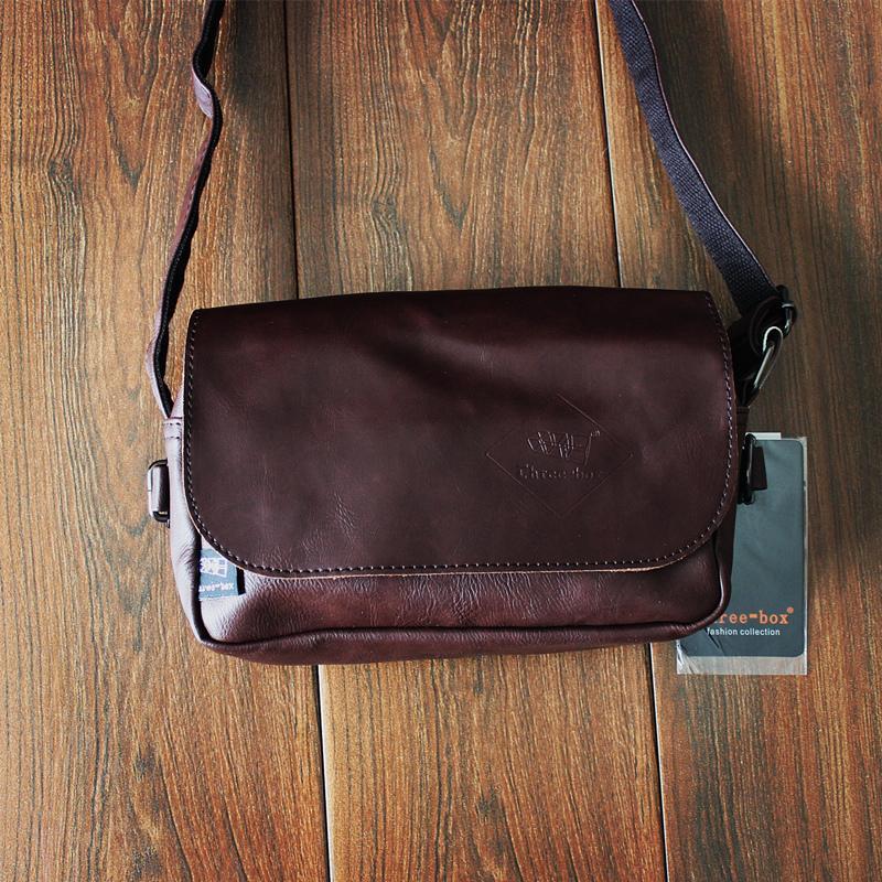 Tas Selempang Vintage Pria Three-Box (Penggemar warna) (Penggemar warna) 4719ae6a3b