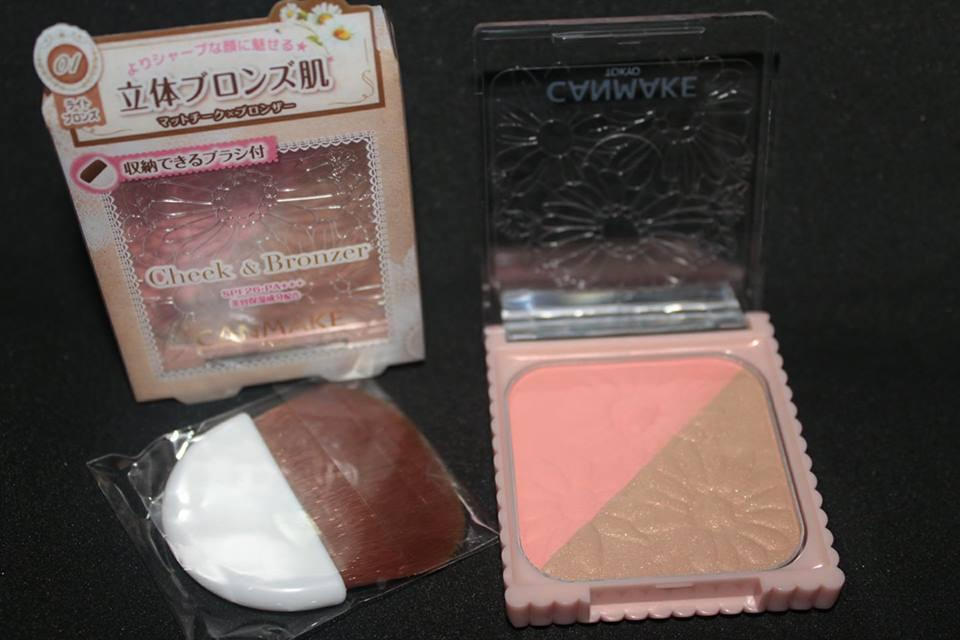 CanMake Cheek & Bronzer Authentic SPF26 Philippines