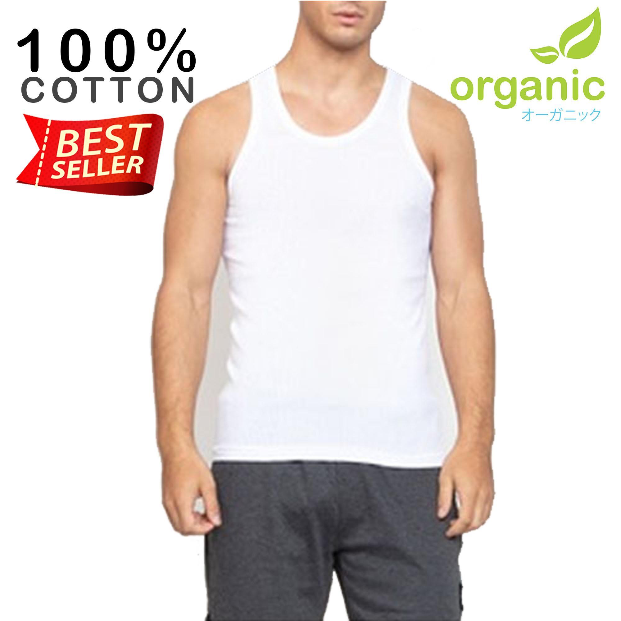 4ffa1ae882f Organic Mens Ribbed Tank Top Sando Tees t shirt tshirt shirts tshirts tops  top for men