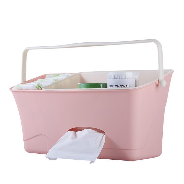 กล่องใส่ของผ้าอ้อมถุงแขวนขวดนมจัดเก็บเรียบร้อยผ้าอ้อม By Taobao Collection.