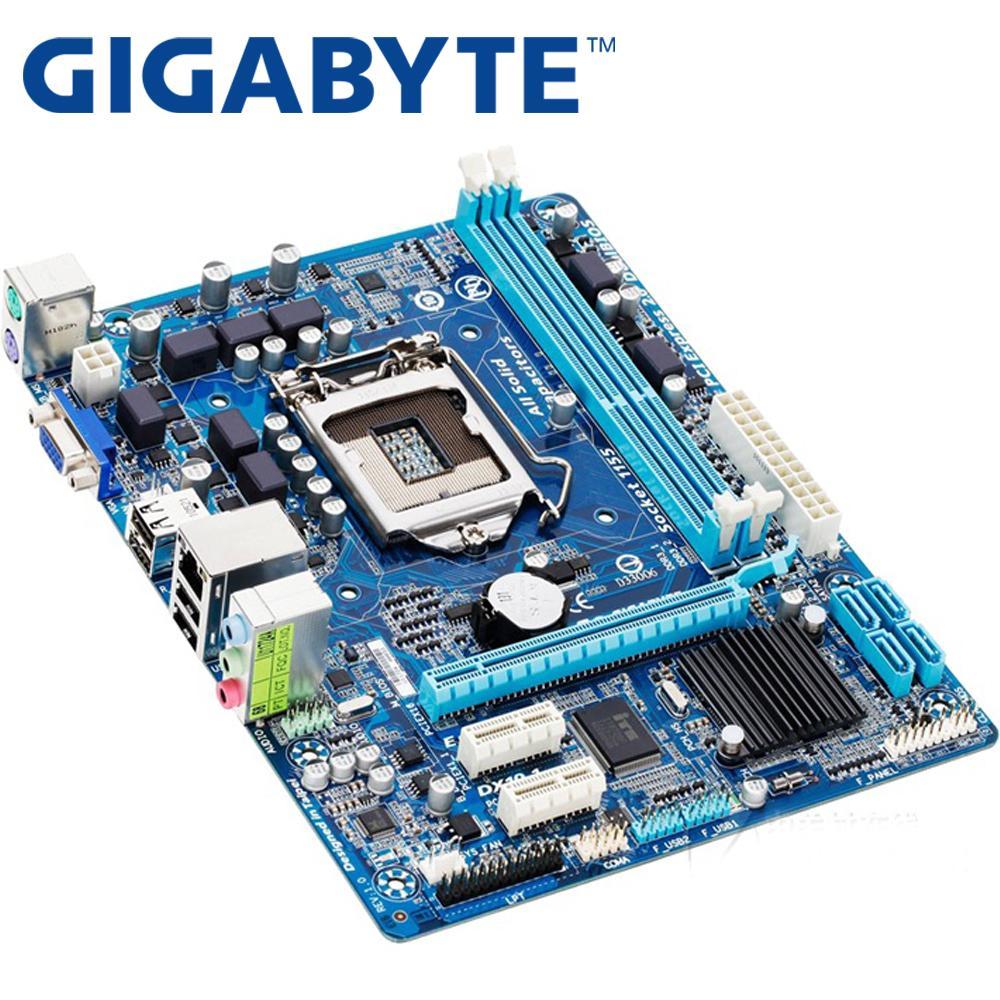 Kelebihan Gigabyte Ga H61m Ds2 Desktop Motherboard H61 Socket Lga Suport I3 I5 I7 1155 Detail Gambar Ddr3 16g Uatx Uefi Bios Original Used Mainboard Terbaru