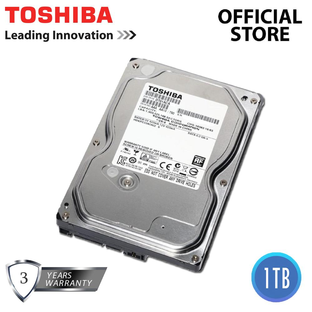Toshiba Hdd Philippines Hard Disk Drives For Sale Prices Hardisk Pc 35 320gb Sata Dt01aca100 1tb 7200 Rpm 32mb Cache 60gb S Internal Drive