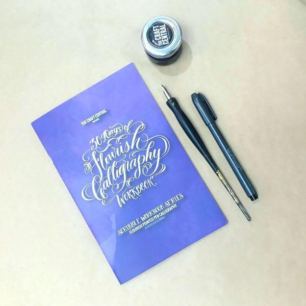 Flourish Calligraphy Workbook