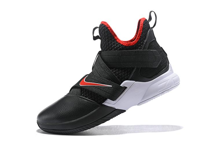6254d31e73c2 ... promo code for lebron 12 soldier mid top offical sport shoes mens  basketball shoe anti slip