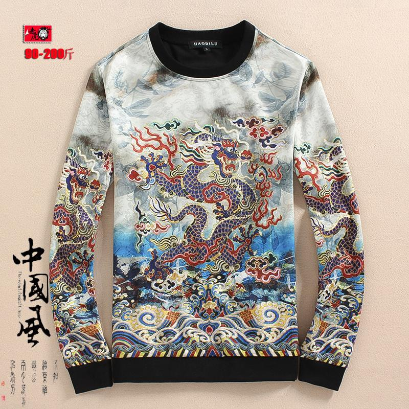 PLAYBOY Tren Tambah Beludru Leher Bulat Lebih Tebal Pria T-shirt Kaos Sweater (88. Source · Detail Gambar Kaos Oblong Lengan Panjang Pria Motif Cetak Pola ...