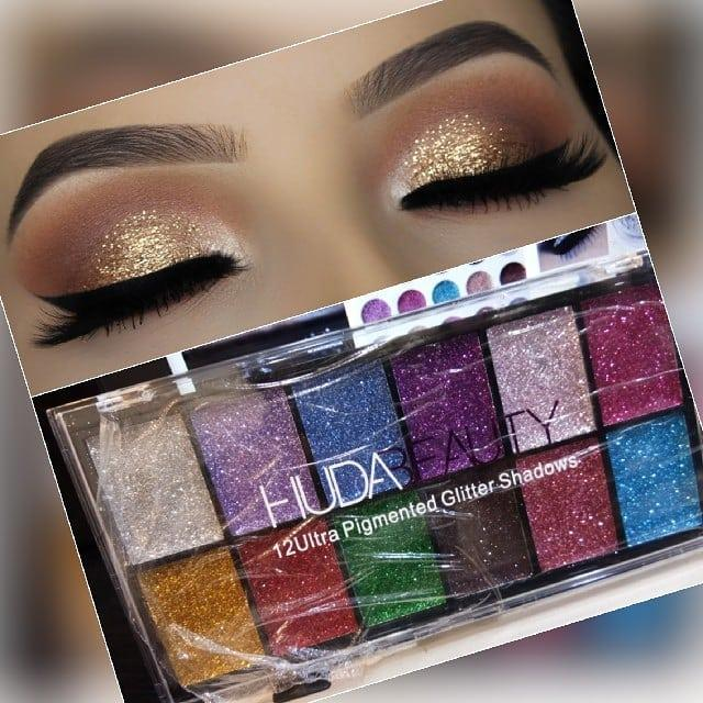 12ULTRA PIGMENTED GLITTER SHADOWS Philippines