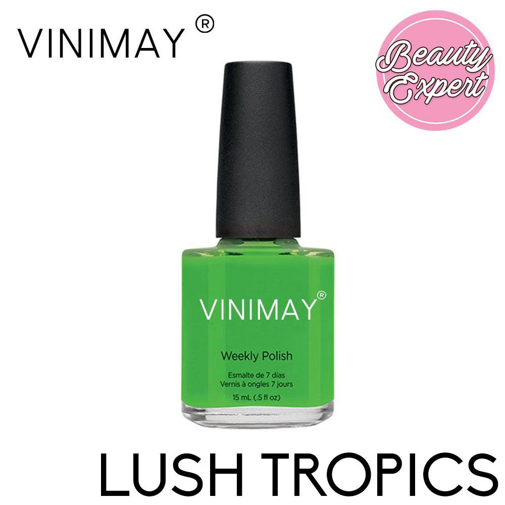 Vinimay Weekly Polish Quick Dry Nail Polish 15ml  (Lush Tropics) Philippines