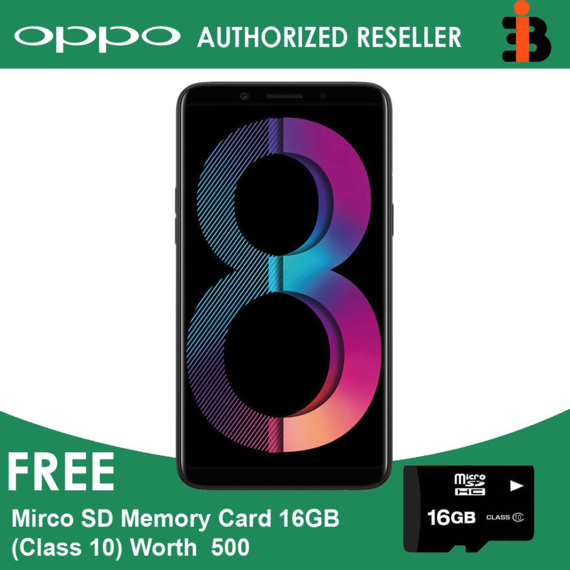 Oppo A83 5 7 inch 32GBROM+3GBRAM 13MP Back 8Mp Front Nougat 7 1 Mediatek  MT6763T Helio P23 Octa-Core 3180 mah 1 Year Local Warranty Authentic Dual  Sim
