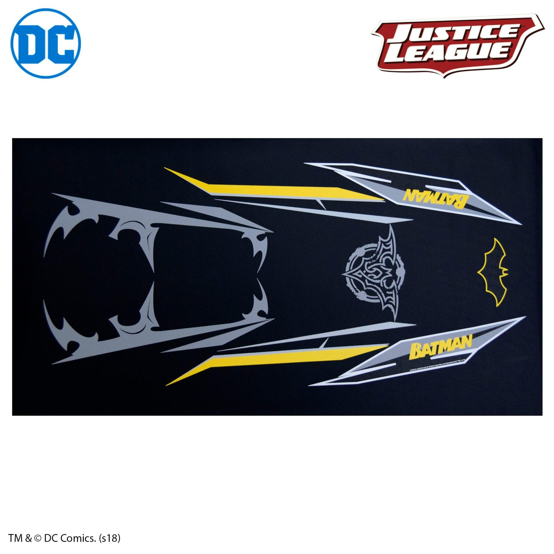 Batman universal seat cover for motorcycle dc justice league official merchandise