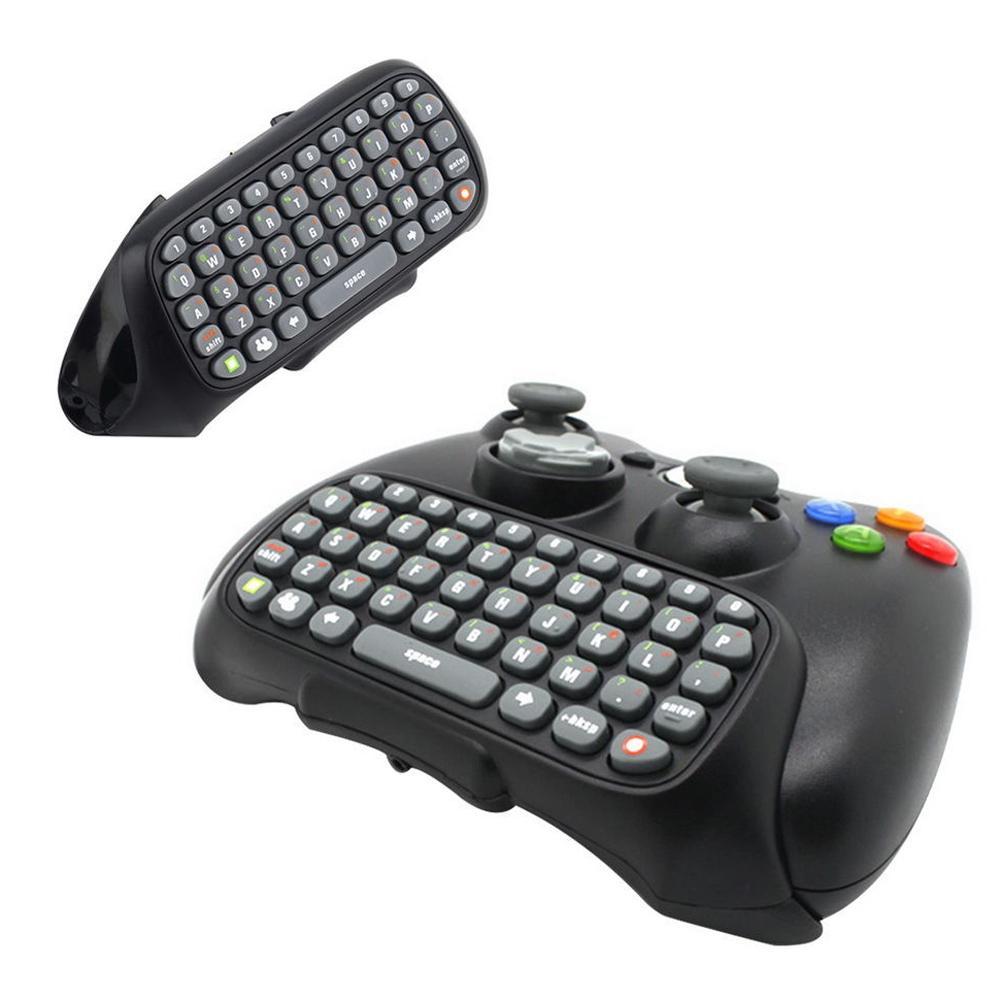 ล่าสุด เกมอุปกรณ์เสริมข้อความเอกสารเกมคอนโทรลเลอร์คีย์บอร์ด CHATPAD สำหรับ XBOX 360 สาย/ไร้สายเครื่องควบคุม - นานาชาติ ราคาถูกที่สุด