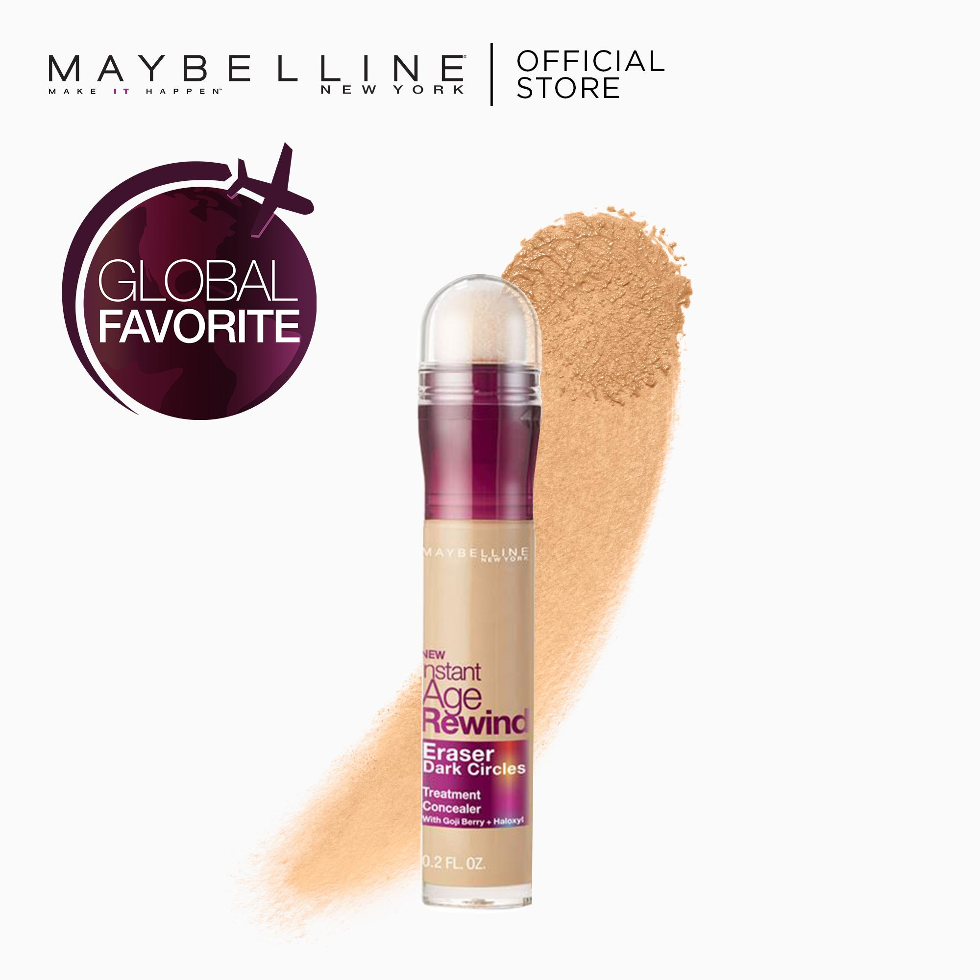 Instant Age Rewind 2-in-1 Concealer+Treatment - 122 Sand [Global Favorite] by Maybelline Philippines