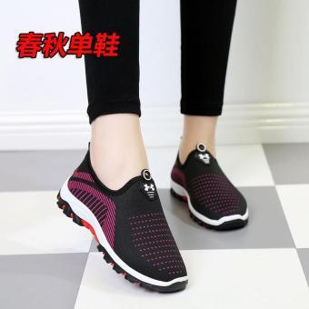 Harga preferensial Musim Semi dan Musim Gugur Beijing oldish sepatu kain  sepatu wanita Pijakan empuk anti 6993927f84
