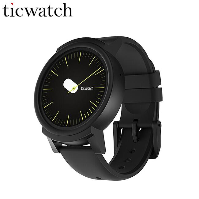 Asli Ticwatch E Expres Jam Pintar WIFI GPS Smartwatch Android Wear OS MT2601 Dual Core Bluetooth