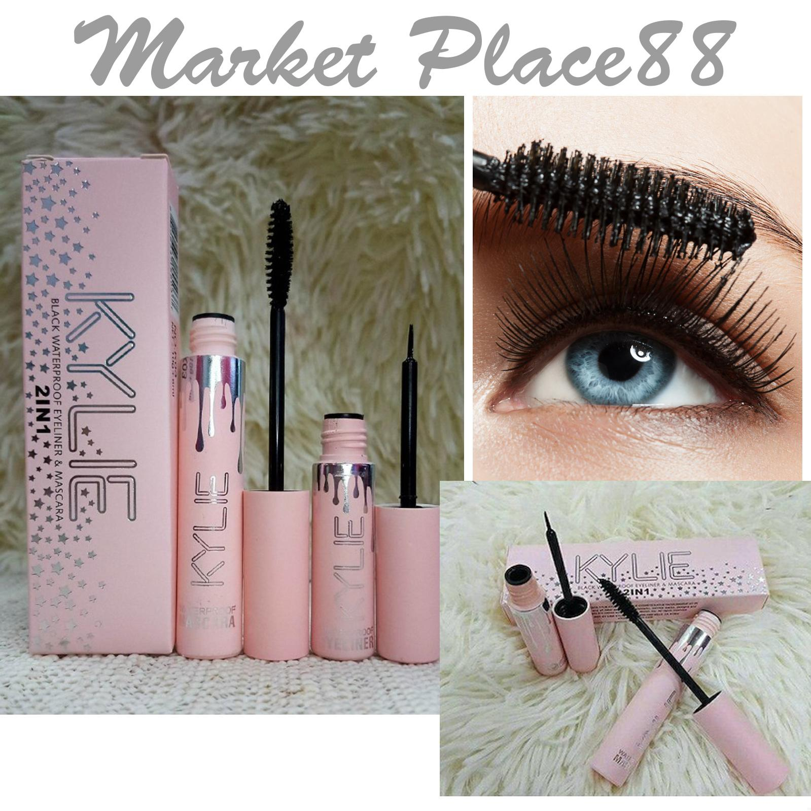 WATERPROOF BLACK MASCARA & EYELINER 2IN1 Philippines