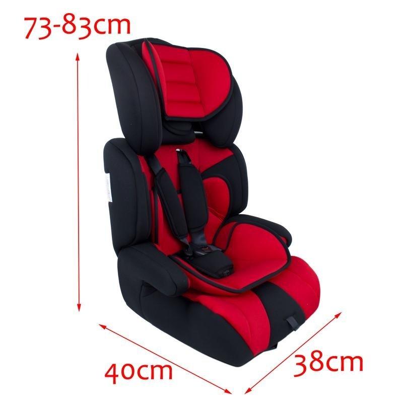 MK All NEW Elegant Designed Reclining Baby Car Seat Basket Carrier Primii Pasi RED KDG 123N