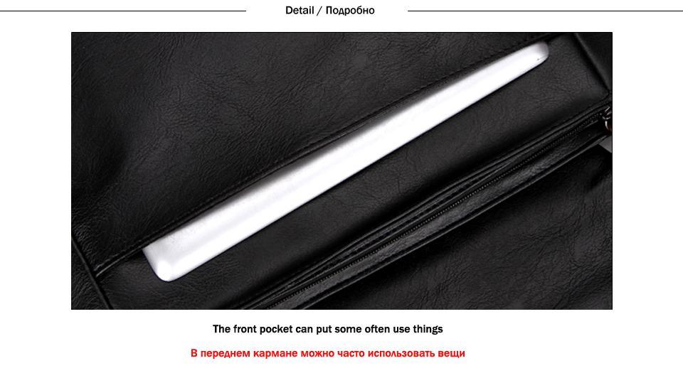 85cf8ce30e3 Specifications of VICUNA POLO Promotional Men Messenger Bag Vintage Large  Horizontal Black Satchel Bag With Double Belt Fashion Mens Handbag Hot