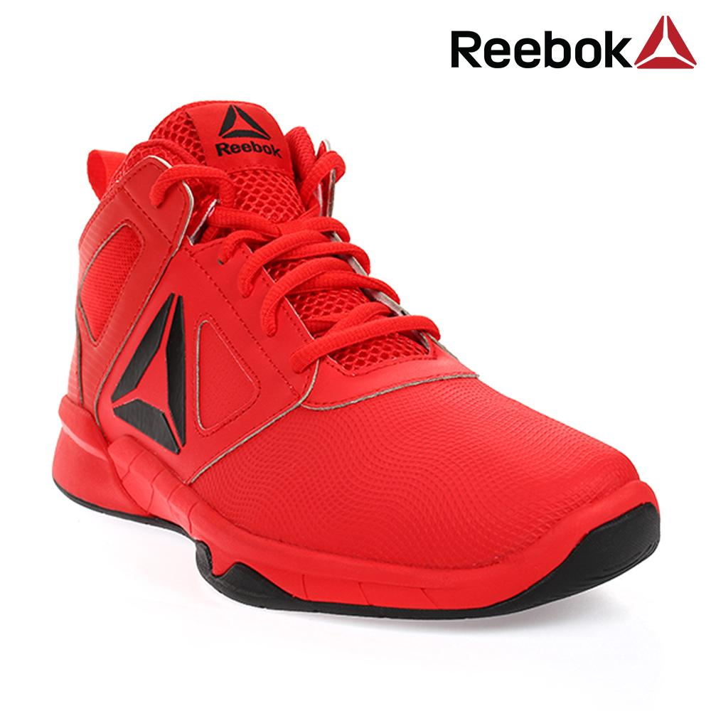 Reebok Royal Dash N Drill Junior's Basketball Shoes (Primal Red/Black)