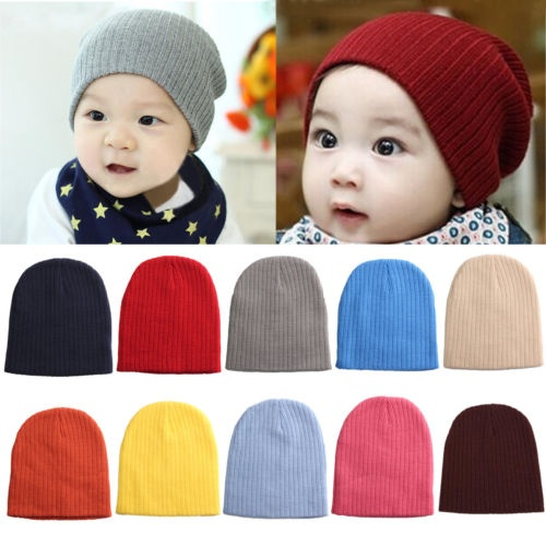 0dadd86c92fd Okdeals Unisex Infant Baby Boy Girl Soft Cotton Beanie Hat Knitted ...