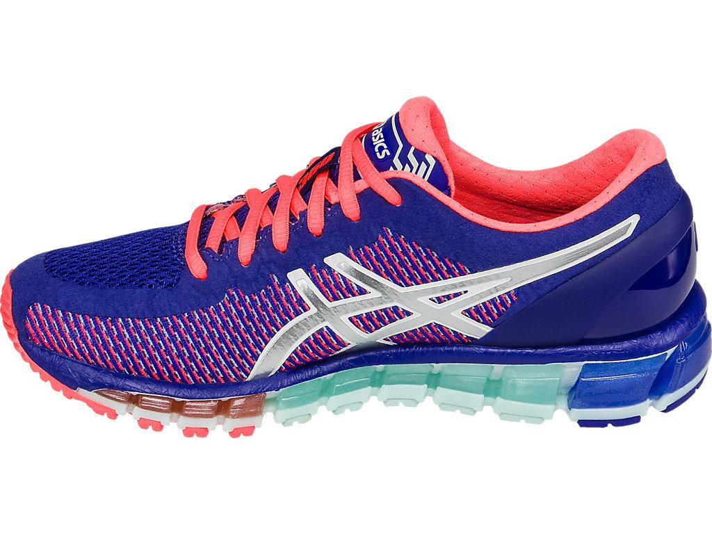 "Asics Original ""ONITSUKA TIGER"" Running Shoe White Blue Red Sneakers WOMENS  Gel Quantum 360 f023d07f6a"