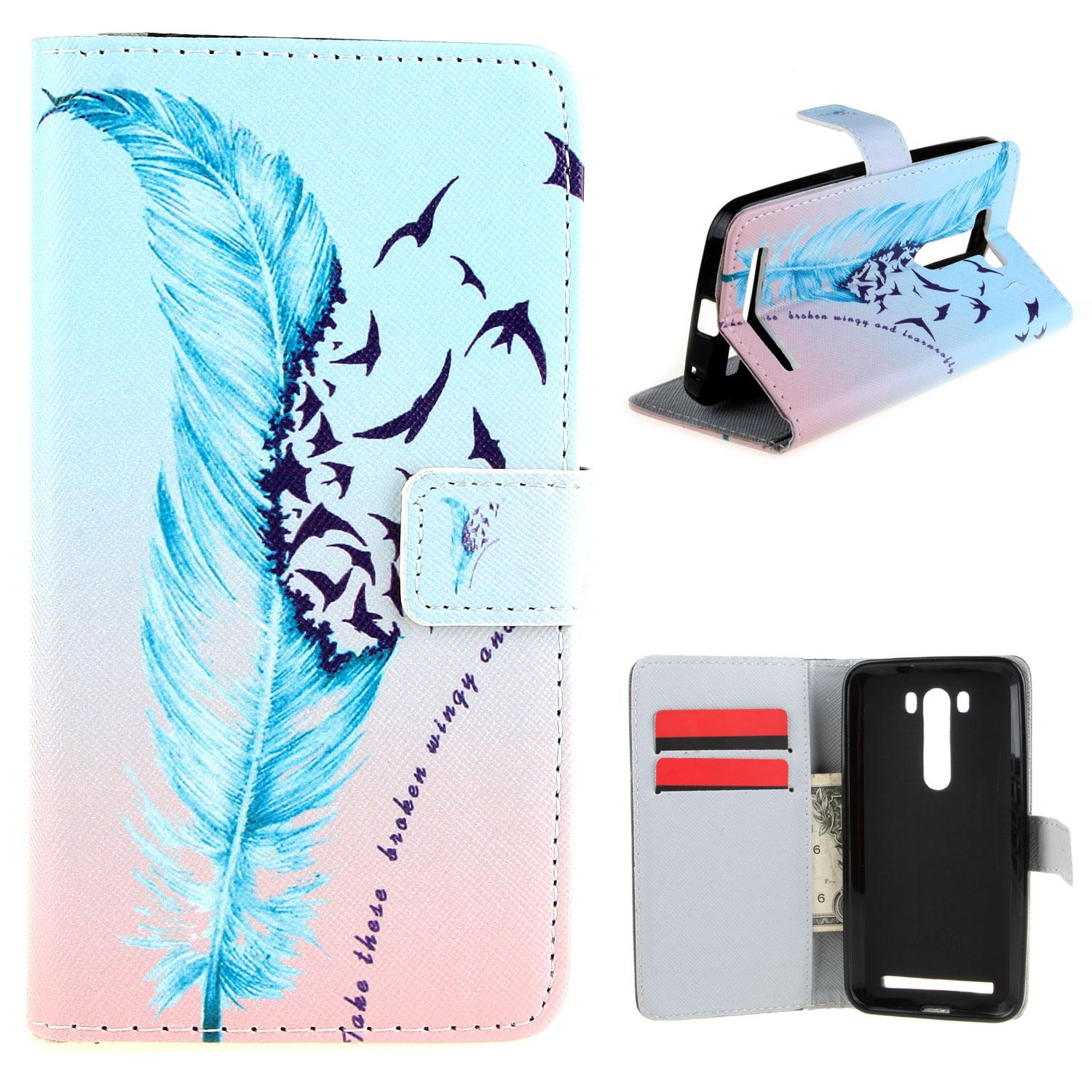... PHP 299 RYMALL For Asus Zenfone 2 Laser ZE500KL Wallet Case Simple Magnetic Closure Style Wallet