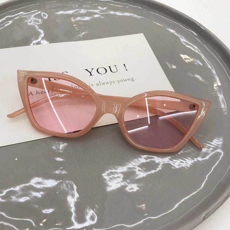 Harajuku Kacamata Hitam Gaya Retro Kaca Mata Korea Fashion Style Perempuan