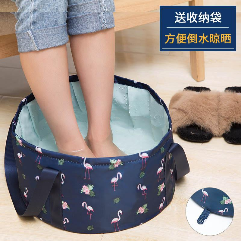 Portable Folding Basin, Travel Bag, Washtub, Washbasin-16l By Huadong Store.